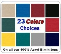 Biminitop doek 1.52 breed