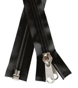 YKK Spiraalrits 10 mm enkeldeelbaar Zwart