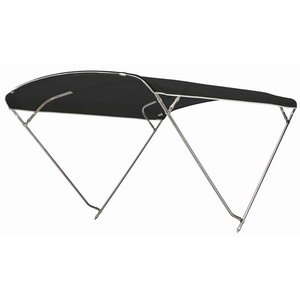 Sunbrella 4 bogen, lang 230 cm, breed 230 cm, hoog 115 cm