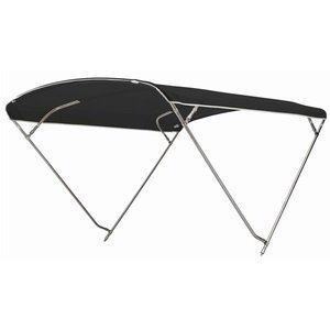 Sunbrella 4 bogen, lang 230 cm, breed 260 cm, hoog 115 cm